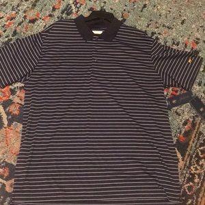 Other - NWT Men's XL Dri Fit Striped Polo Shirt